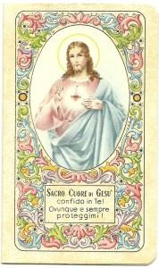 Calendarietto dei Salesiani 1943