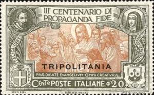 Il 20 Centesimi emesso per la Tripolitania