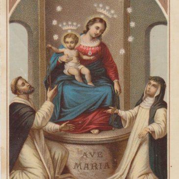 Cosa ci fa Santa Rosa da Lima nel quadro della Madonna di Pompei?