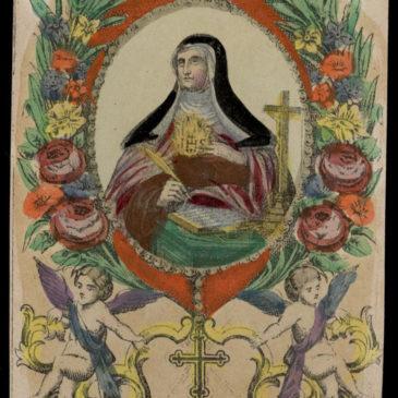 Gli scritti autografi nel breviario di Santa Teresa d'Avila