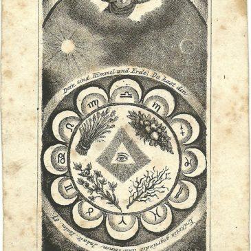 Immaginette religiose e astrologia