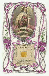 reliquia S. Teresa B.G.