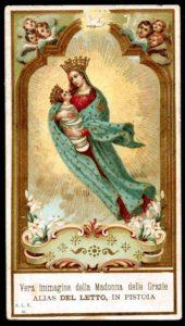 La Madonna del Letto di Pistoia