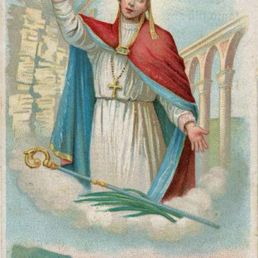 Veneratissimo Sant'Emidio, liberaci dal flagello del terremoto. Se puoi…