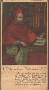 una cromolitografia degli anni Trenta, firmata Santa Lega Eucaristica