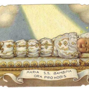 Maria Bambina: si venera o si prega?