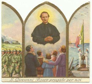 Santino a edicola pubblicato da Vanoni Parini & C. nel 1942