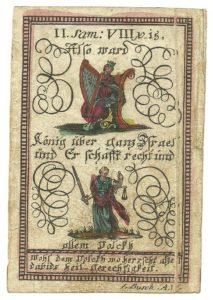 Una rebusbild stampata dall'editore Busch di Augsburg