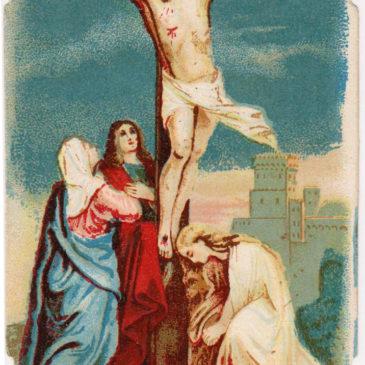 Ma chi c'era sotto la Croce?