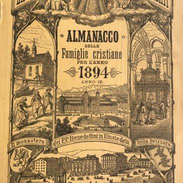 Almanacco delle Famiglie Cristiane