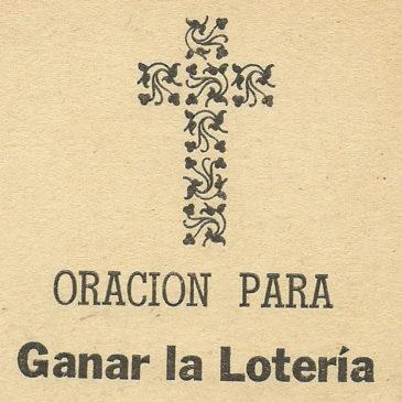 Volete vincere alla lotteria? Recitate questa preghiera!