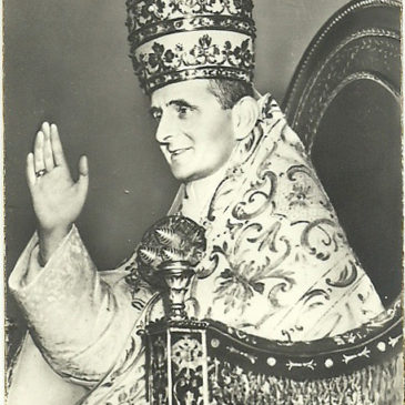 San Paolo VI, l'ultimo pontefice con la tiara