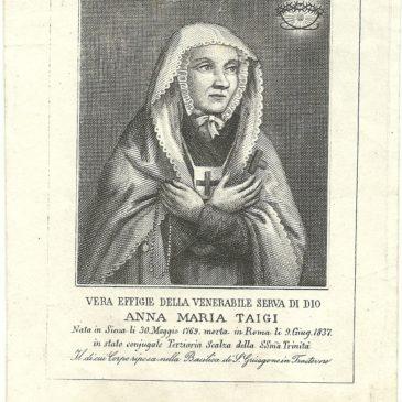 Anna Maria Taigi: santa o una pazza visionaria?
