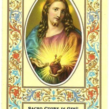Calendarietti salesiani del S. Cuore: dal 1969 tutti uguali.