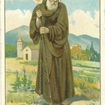 Il Santo di Paola portava la canna o il bastone?