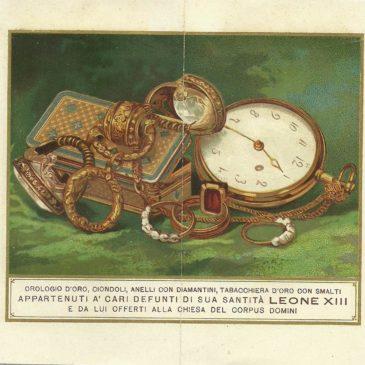Leone XIII e i gioielli di famiglia
