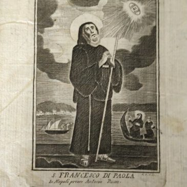 Il mantello di San Francesco di Paola