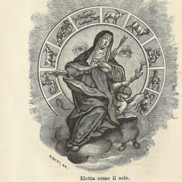 Vita di S. Teresa di Gesù parallela allo zodiaco del sole