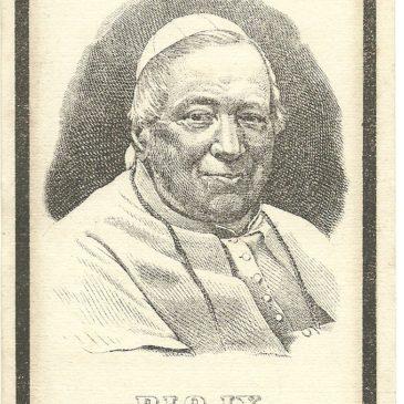 Luttini illustri: la santa memoria di Pio IX