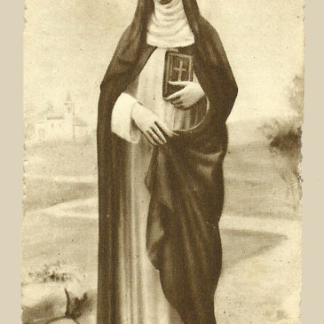Il latino maccheronico dei santini