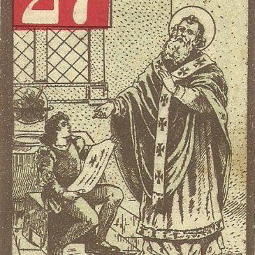 Il calendario dei santi, edizioni Filiziani