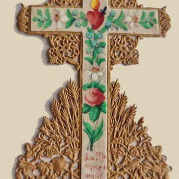 Croce a intaglio meccanico di Regnault